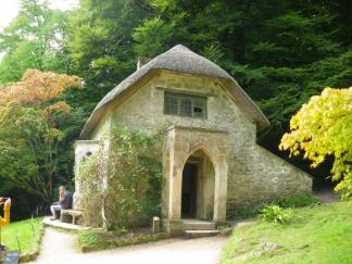 Stourhead Gothic cottage compressed