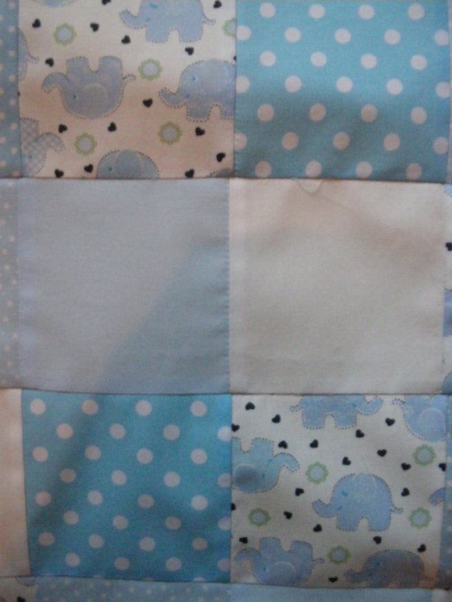 baby quilt corner